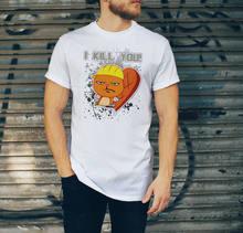 Camiseta Eu te matar trabalho engraçado camisa Do Partido esquilo Com Raiva  de Londres REINO UNIDO Livre 58b558e07c4fc