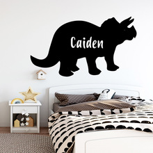 Cute wild boar Custom Name Pvc Wall Art Stickers Modern Fashion Wallsticker Decor Living Room Decals Bedroom Sticker Mural