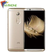 Оригинальный ZTE Axon 7 A2017 4 г LTE 4 ГБ Оперативная память 128 ГБ Встроенная память мобильного телефона Snapdragon 820 Quad Core 2.15 ГГц 5.5 дюймов 20.0MP отпечатков пальцев NFC