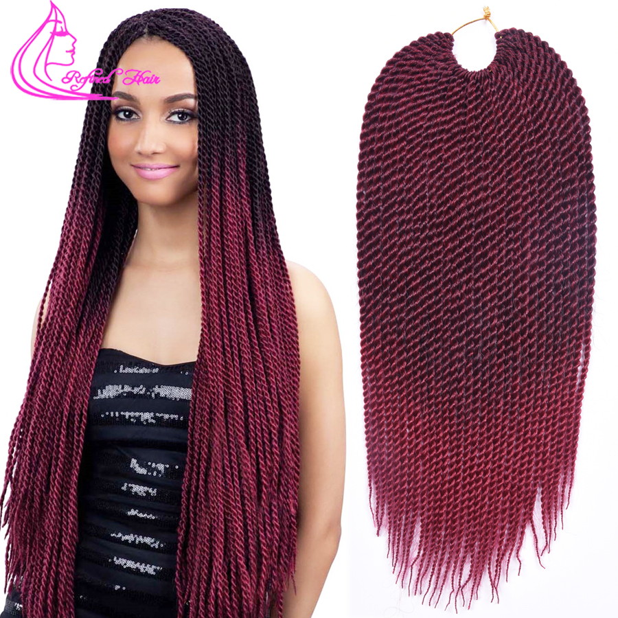 18inch Havana Mambo Twist Crochet Braid Hair 30 Roots Senegalese