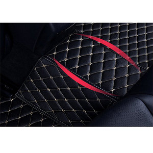 Image 4 - Flash mat leather car floor mats for Toyota corolla 2007 2014 2015 2016 2017 2018 Custom auto foot Pads automobile carpet cover