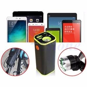 Image 2 - Usbモバイル電源銀行4 × 18650バッテリー充電器ボックスケースホルダーwhosale & ドロップシップ