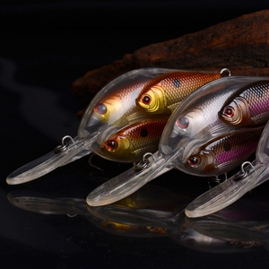 Image 4 - Nieuw Type Pesca Crank Aas Visgerei Swimbait Crankbait Wobbler Bass Kunstaas Voor Vissen Eigenaar Haak 1 Pcs 95 Mm 17G