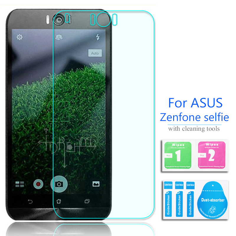 For Asus ZenFone Selfie Tempered Glass Screen Protector 2.5 9h Safety Protective Film on ZD551KL Zd551 Dual SIM LTE TW JP US