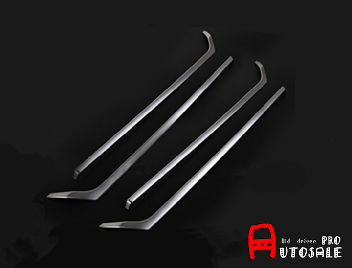 For BMW X3 F25 2011 2012 2013 2014 2015 Stainless Steel Interior Inside Door Decoration Trim Cover 4pcs Glossy 2014 2015 for bmw x5 f15 interior auto decoration trim stainless door inner handle bowls cover trims matte 4pcs