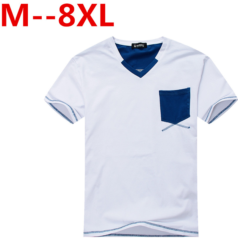 10xl 8xl 6xl 5xl 4x Solid color Cotton T Shirt Mens Gray White T-shirts 2017 Summer Skateboard Tee Boy Hip hop Skate Tshirt Tops