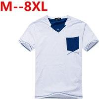 10xl 8xl 6xl 5xl 4x Solid color Cotton T Shirt Mens Gray White T shirts 2017 Summer Skateboard Tee Boy Hip hop Skate Tshirt Tops