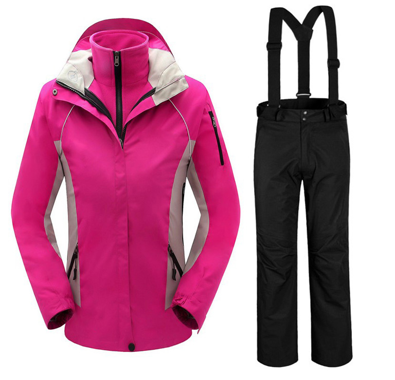 2017 New Arrive High Quality Brand Women's Outdoor Suits 3in1 Waterproof Windproof Jacket And Pant Set Windbreaker Jacket brand new smt yamaha feeder ft 8 2mm feeder used in pick and place machine