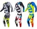 2017 Da Bicicleta Da Sujeira 180 NVI Motocross Terno raposa Off-Road MTB dh mx moto gear set jersey + calças de equitação da motocicleta da bicicleta da sujeira engrenagem