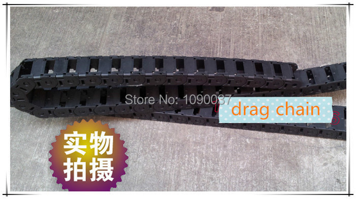 35x150mm open  Cable Drag Chain Wire Carrier Towline/ Cable carrier towing chain best price 25 x 57 mm l1000mm cable drag chain wire carrier with end connectors for cnc router machine tools