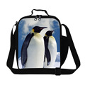 Dispalang мода 3D животных обед сумки для женщин cute penguin pattern дети пищевых контейнеров сумки сумка для пикника с ручкой коробки для завтрака