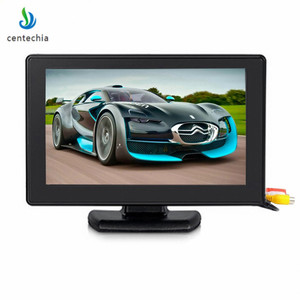 Centechia Color Monitor TFT LCD Monitor High Resolution 2 Channel Video Input Display Monitor for DVD VCD camera STB 4.3'' XNC