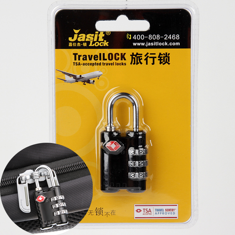 TSA Combination Lock Travel Luggage Suitcase Code Padlock Metal Luggage Lock For Zipper Bag Drawer Cabinet free shipping security smart portable fingerprint padlock luggage lock bag drawer lock