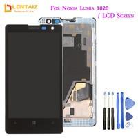 Original 4 5 For NOKIA Lumia 1020 LCD Touch Screen For NOKIA Lumia 1020 Display Digitizer