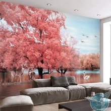 Buy swan mural wall and get free shipping on AliExpress com