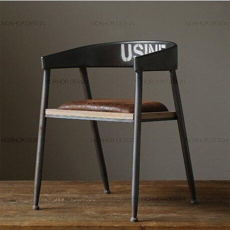 The Village Of Retro Furniture,Vintage Metal Bar Chair,anti Rust  Treatment,Bar
