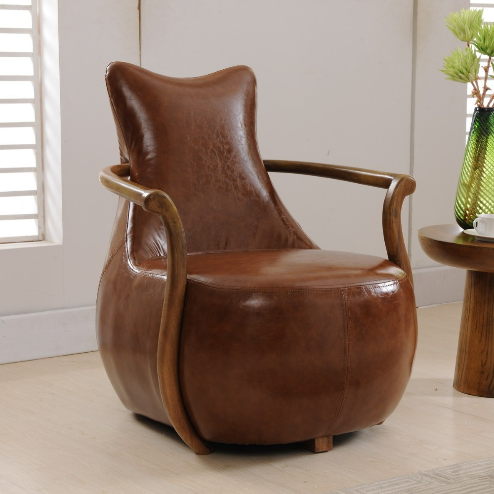 2 Pcs Chairs For Selling Modern Sofa Chair Wood Frame Armchair