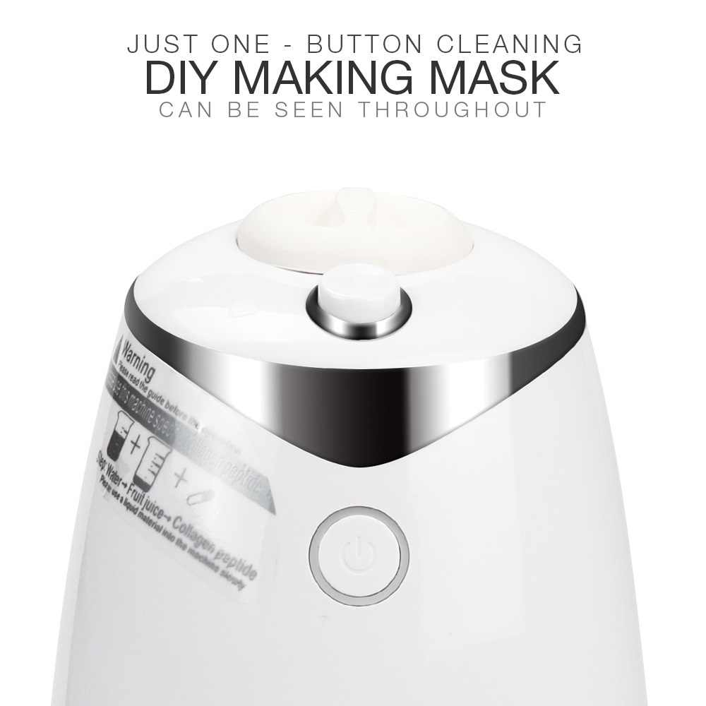 Gezichtsmasker Maker Machine Gezichtsbehandeling Diy Automatische Fruit Natuurlijke Plantaardige Collageen Thuisgebruik Schoonheidssalon Spa Care Eng Voice