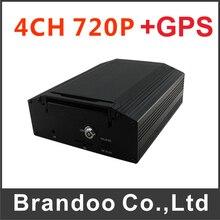4CH 720P GPS Car DVR with 8V-36V power input,free shipping
