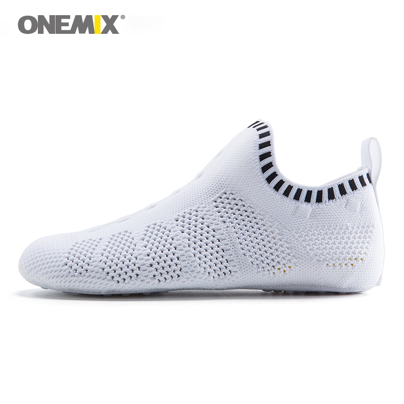 Onemix beach sandals slip-on slippers no glue environmentally friendly light cool breathable walking shoes slipper socks at home