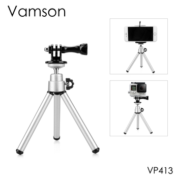Vamson for Go Pro Accessories Mini Scalable Monopod Tripod For GoPro Hero 9 8 7 6 5 4 forDJI OSMO Action Yi 4K VP413 - discount item  10% OFF Camera & Photo