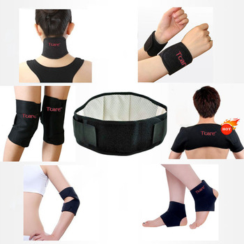 11Pcs Tcare Self-heating Tourmaline Belt Magnetic Therapy Neck Shoulder Posture Correcter Knee Support Brace Massager Products
