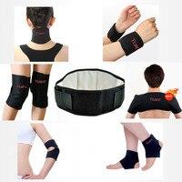 11 pièces Tcare auto-chauffant Tourmaline ceinture thérapie magnétique cou épaule Posture correcteur genou soutien orthèse masseur produits