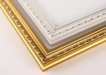 Nieuwe Diy out frame Unfinished Houten brancard 1 stks diy olieverf diamant Mozaïek Dikke houten frame muur painting frame