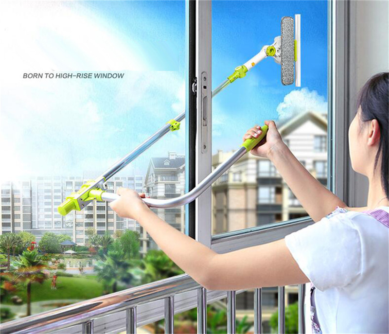 Telescoping window washing tool u grip window cleaner with - Best cloth for cleaning windows ...