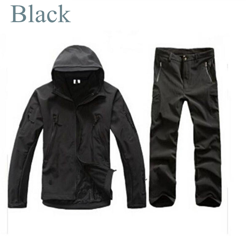 Man Woman New Winter Waterproof Fishing Hunting Trousers Tactical SoftShell Hunting Outdoor Jackets Set Army Suit Military Pants man new winter waterproof fishing trousers tactical softshell hunting outdoor jackets set army suit military pants