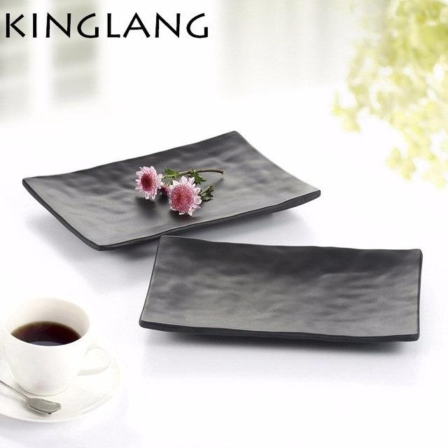 1PC Japanese style plastic melamine sushi long plate unbreakable plate for rice fish plate  sc 1 st  AliExpress.com & 1PC Japanese style plastic melamine sushi long plate unbreakable ...