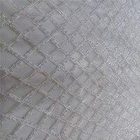 白いガラスビーズ刺繍フランス語ネットレースの生地ウェディングドレス/イブニングドレス新しいデザインmant小さなビーズと真