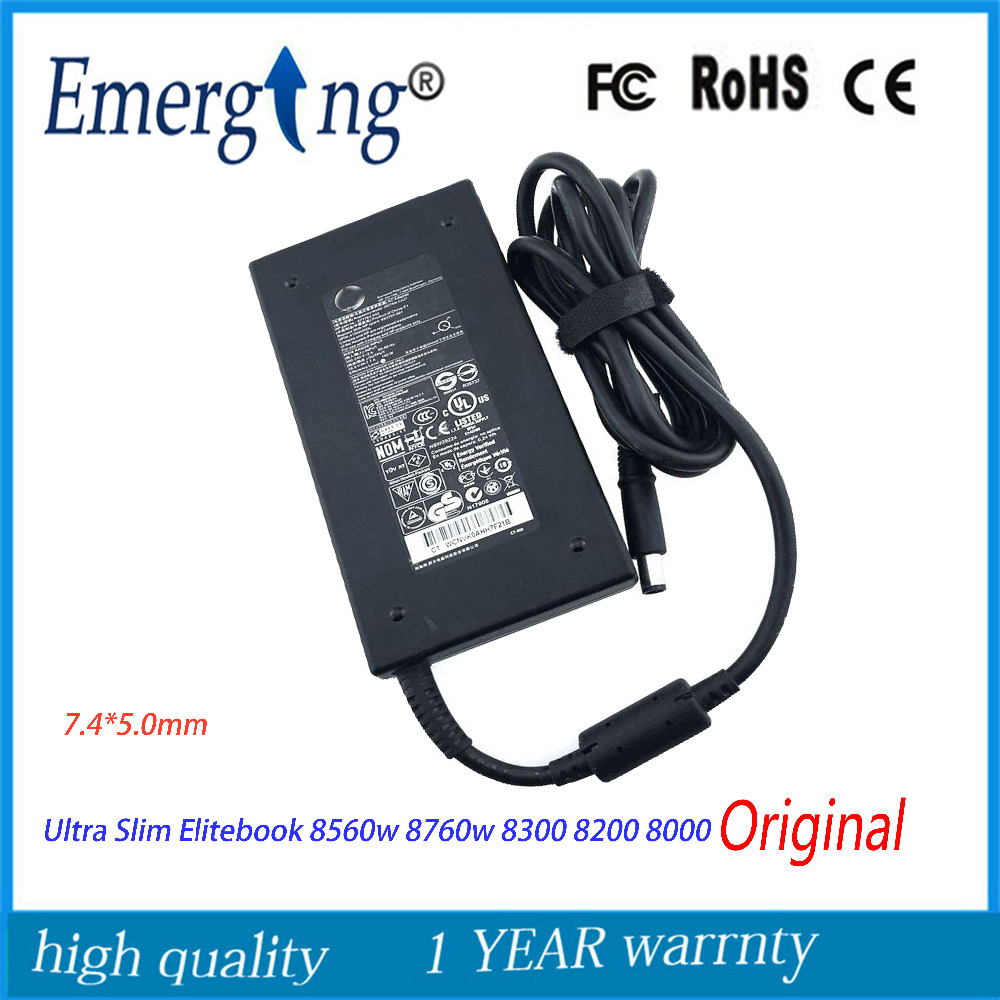 Original 19.5V 7.7A 150W 7.4*5.0mm AC Laptop Adapter Charger For HP Elitebook 8560w 8760w 8300 8200 8000 All In One Pc недорго, оригинальная цена