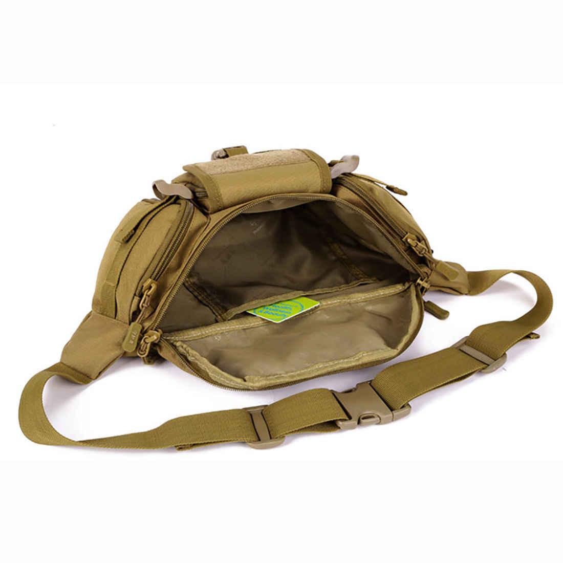 男性ナイロンウエストヒップボム戦術軍事ジム旅行ハイキングベルトバッグホットクール多機能屋外ラン男ウエストバッグ