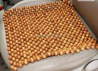 Wooden beads art massage cushion car seat cushion Car seat cover bead cushion monolithic manual wood bead cool car seat cushion