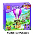 10546 Bela Friends  Heartlake Hot Air Balloon Building Block Andrea Noah Mini Doll Girls Educational Toys Legoes  Compatible