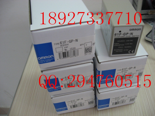 [ZOB] 100 new original authentic OMRON Omron level switch 61F-GP-N AC220V  --2PCS/LOT [zob] new original omron omron photoelectric switch ee sx974 c1 5pcs lot