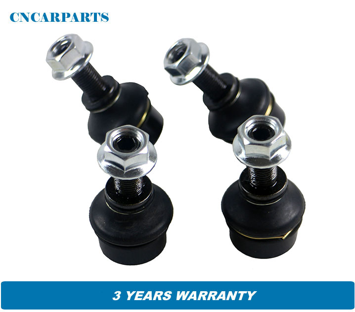 2PCS Pair Stabilizer Link kit sway bar Drop links Set fit for Nissan Navara Pritsche Fahrgestell D40 Pathfinder R51 , 54668EA010