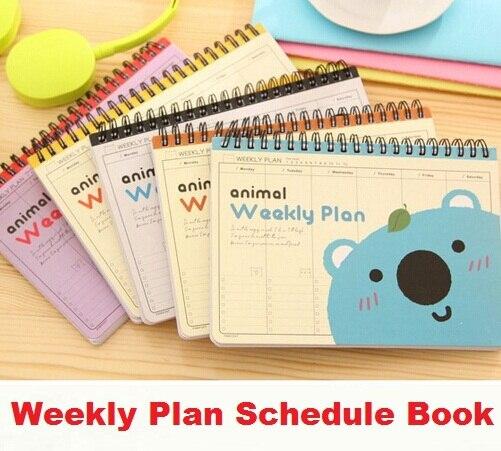 1pcs/lot   Sweet Cartoon Animal series Kraft Paper Weekly Plan Schedule notebook/lovely plan-book/diary1pcs/lot   Sweet Cartoon Animal series Kraft Paper Weekly Plan Schedule notebook/lovely plan-book/diary