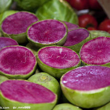 400 Watermelon Red Radish Vegetble Seeds for home garden
