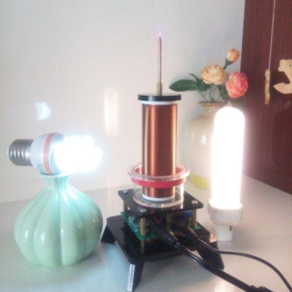 La musique de bobine de Tesla/klaxon de plasma/haut-parleur de plasma/transmission de puissance sans fil/éclairage d'air
