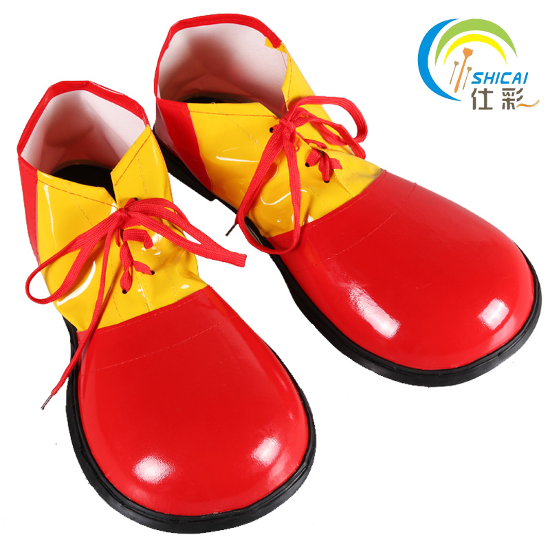 Cosplay character play clown boots dress up accessories ...