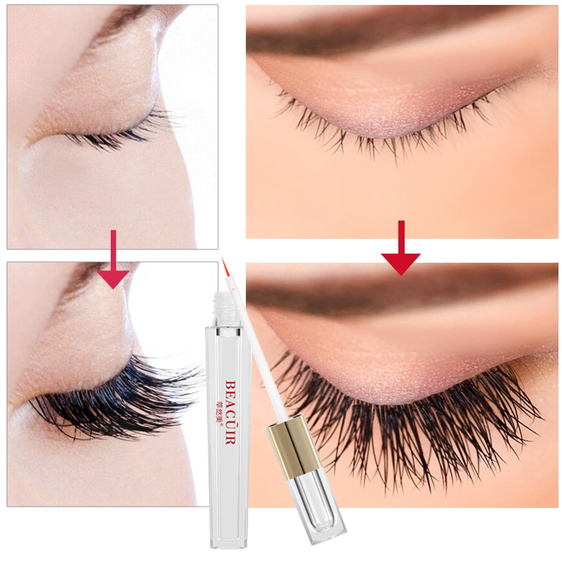 9789b97e3b8 BEACUIR Nature Eyelash Growth Serum 7 Day Eyelash Enhancer Longer Fuller  Thicker Lashes Eyelashes&Eyebrows Enhancer Eye