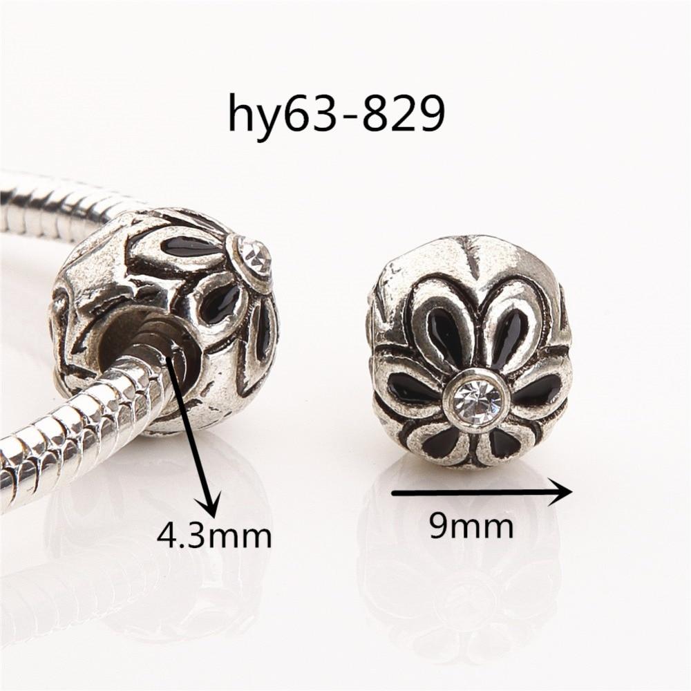 ΞEnvío libre 10 unids 63-829 flor estilo plateado plata antigua ...