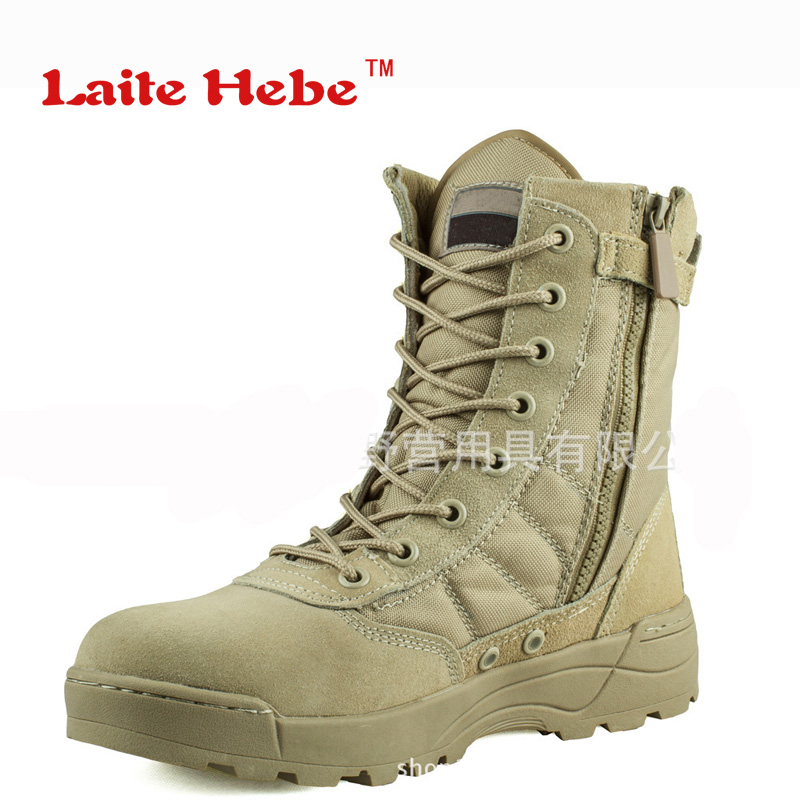 Laite Hebe Delta Tactical Men Boots American SWAT Combat Winter Travel Desert Boots Hiking Shoes Men's Military Boots Size 39-45 new outdoor hiking boots special forces tactical boots men s desert combat boots size 39 40 41 42 43 44 45