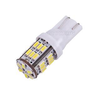 Image 5 - Free Shipping 100pcs T10 led 30smd 3014 SMD Car Bulb Car Auto LED T10 30led 194 W5W  Wedge Light Bulb Lamp t10 30SMD White light