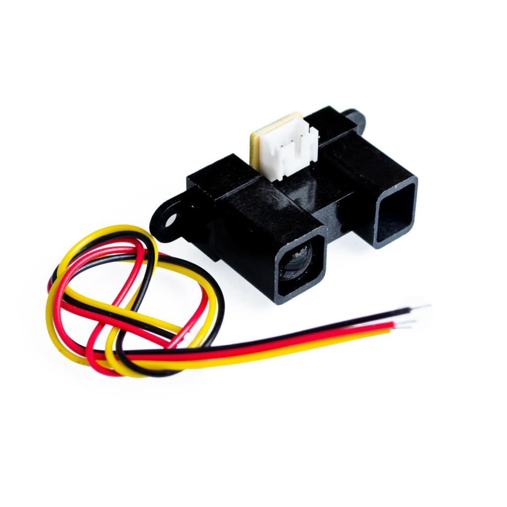 10PCS LOT GP2Y0A21YK0F 100 NEW 2Y0A21 10 80cm Infrared distance sensor INCLUDING WIRES