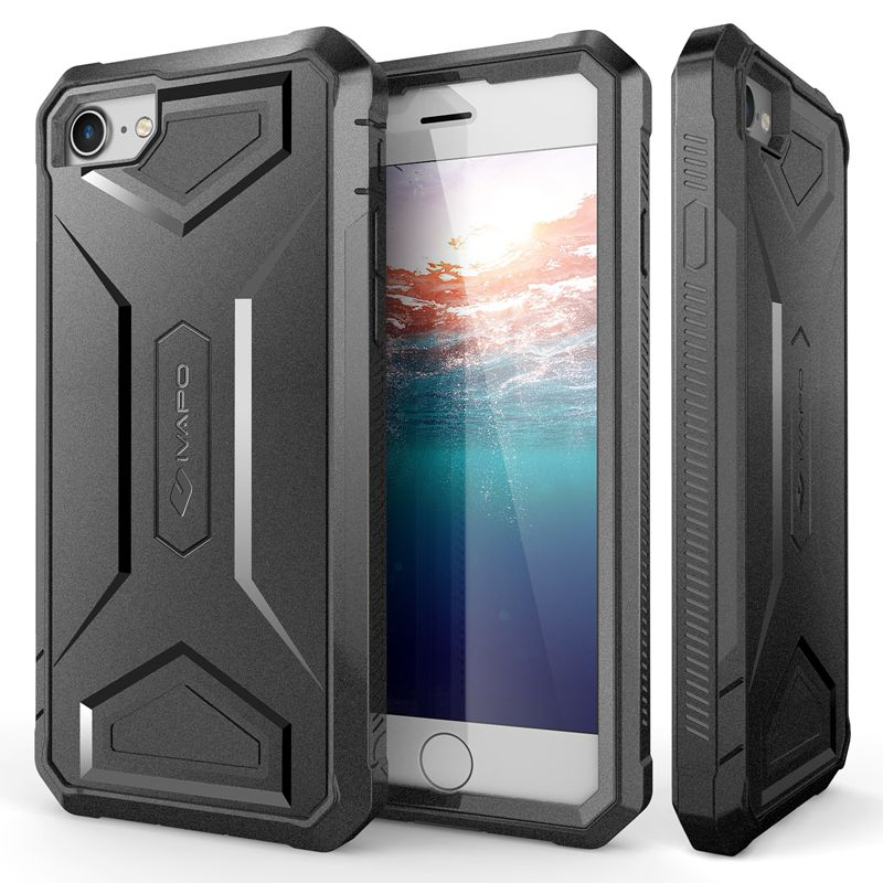 For iPhone 8 Case Full body Protection Phone Cases Built