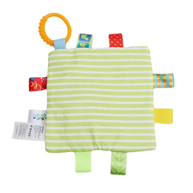 Креативные милые картуны для новорожденных, мягкое полотенце, мягкие удобные куклы, игрушки для младенцев, полотенце для рук, погремушки, игрушки, 6 стилей