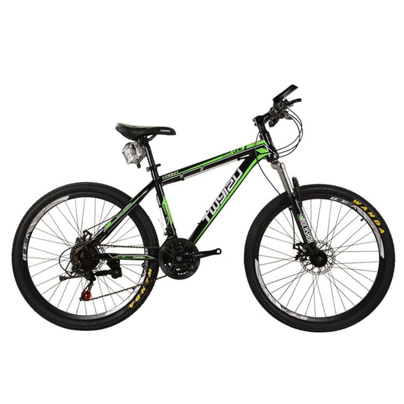 New Bicycle Mountain Bike 21-Speed 26-Inch Mountain Bike